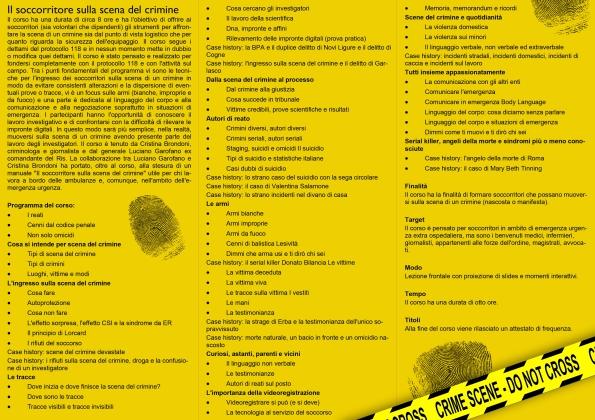 brochure il soccorritore sulla scena del crimine retro (1)