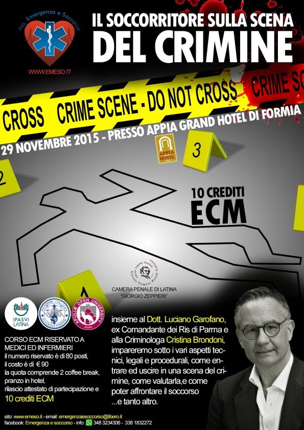 LOCANDINA SCENA DEL CRIMINE FINALE